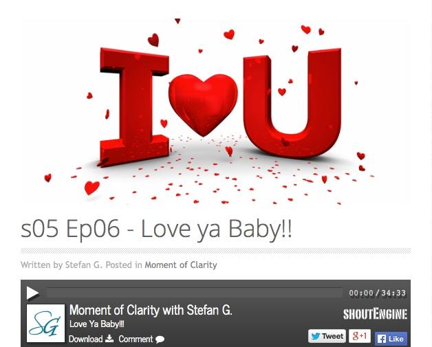 Radio Interview on Love